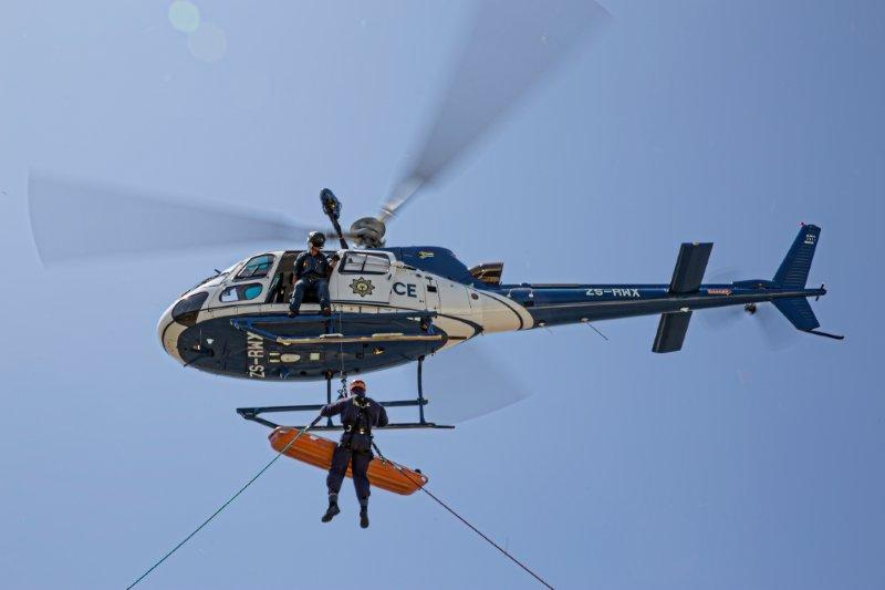 Joint Emergency Response Training at the SAPS air wing [Photos]