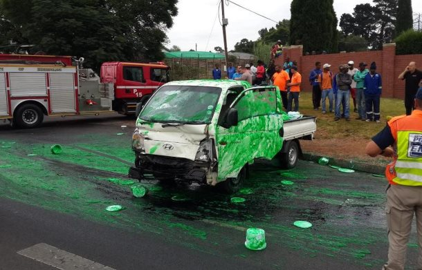 Three injured in Kempton Park collision