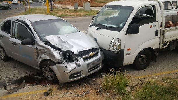 Three injured in Nelspruit collision
