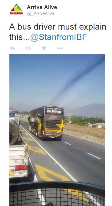 Bus driver dismissed after report in social media of reckless driving