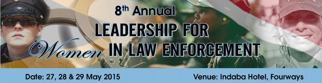 Conference to discuss the Leadership of women in law enforcement