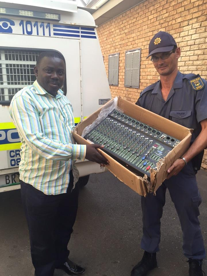 Suspect arrested and property stolen from vehicle recovered by SAPS