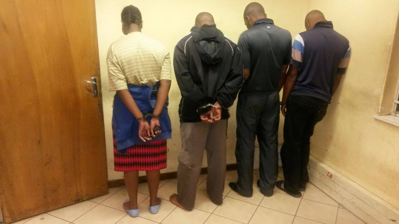 Gauteng Flying Squad arrested 3 for possession of unlicensed firearms and ammunition
