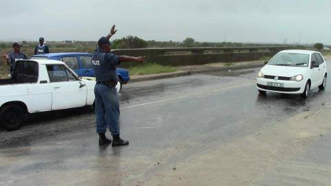 Vehicle checkpoints in Port Elizabeth focused on crime prevention