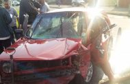 Driver injured after collision with truck, Durban