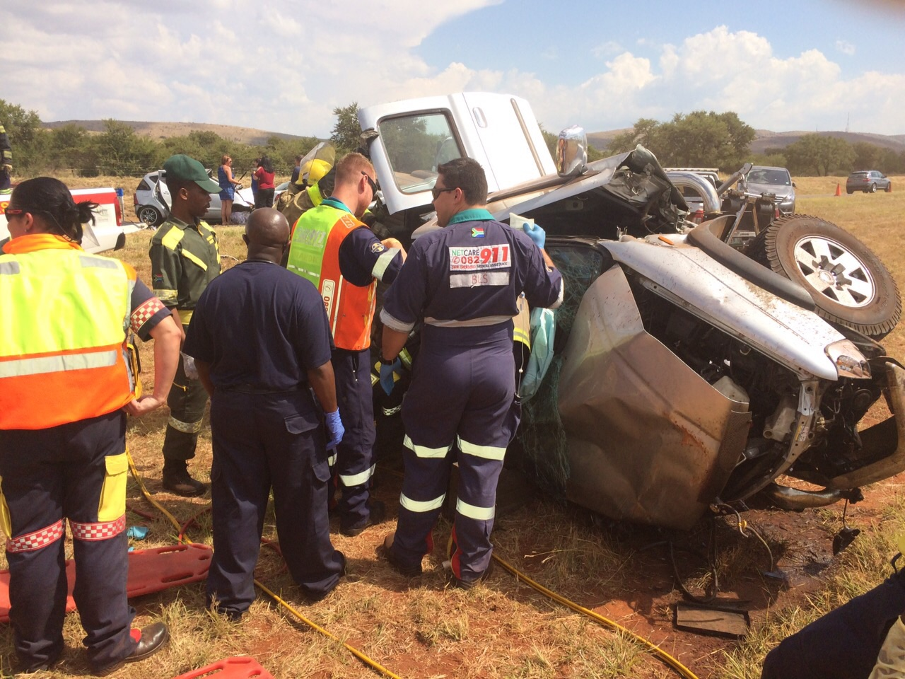 Two killed in road crash on N4 before Brits Toll plaza