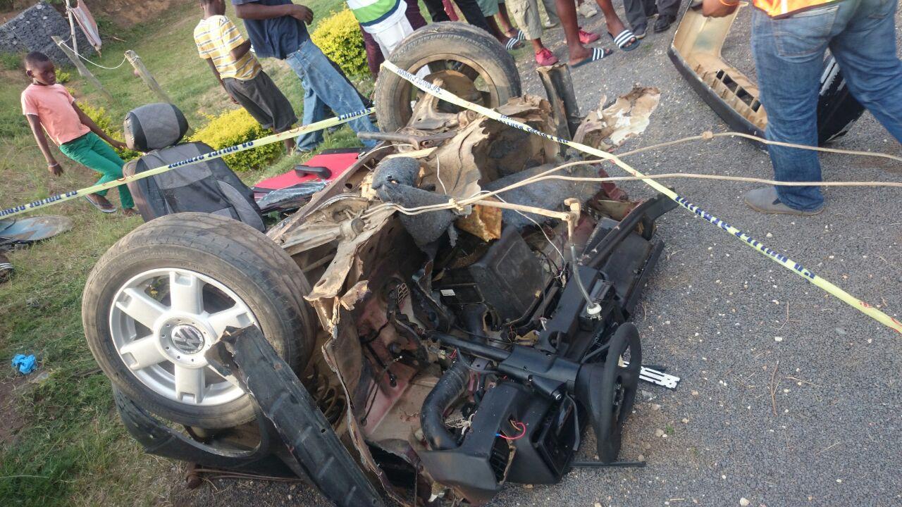 KZN Gcilima road crash leaves two injured
