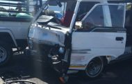Seven injured in taxi collision