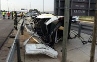 Taxi collision on the N1 near the Maraisburg off-ramp leaves one dead and thirteen injured