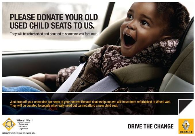 Renault SA and Wheel Well: A partnership focusing on children in road safety