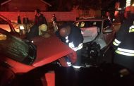 Two injured in head-on collision on Jan Spies avenue in Bloemfontein