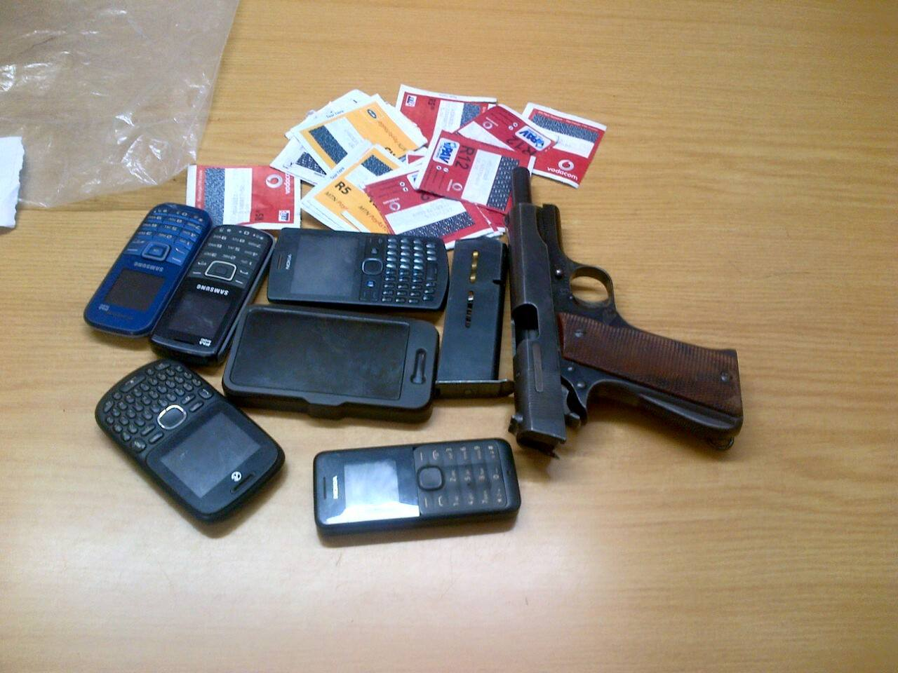 Three hitchikers arrested in Thabazimbi in possession of illegal firearm