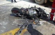 Biker killed after collision