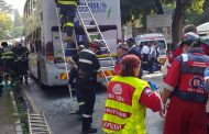 One killed and 41 injured in bus collision on Jan Smuts Avenue in Saxonwold