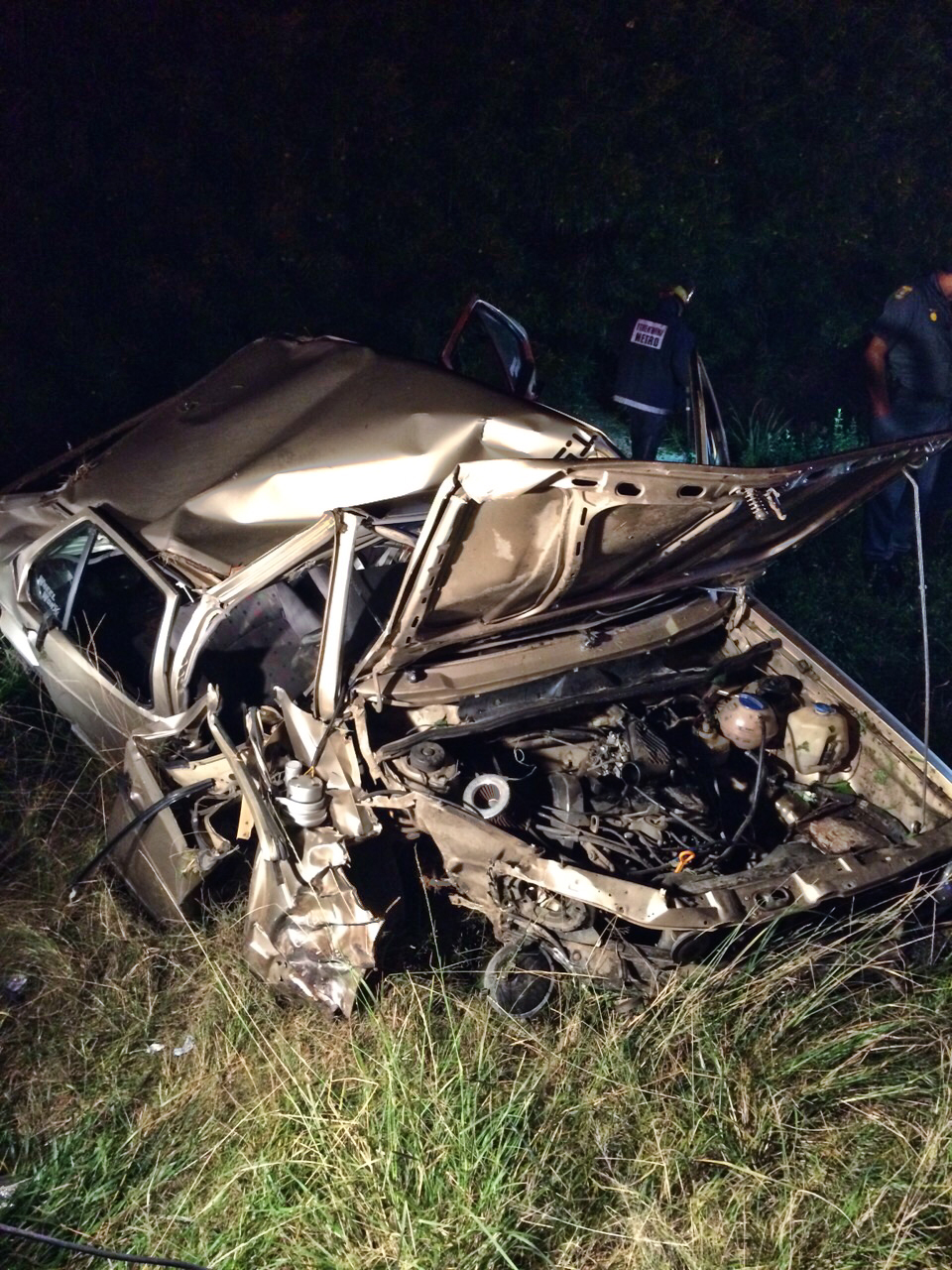 Two injured in rollover crash along the Watson Highway in Tongaat