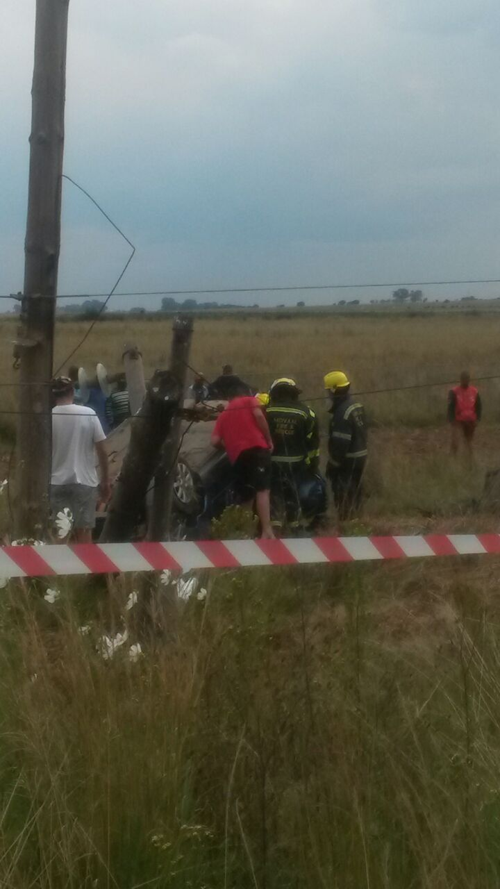 Three killed and two injured in collision on the Villiers Road in the Vaal