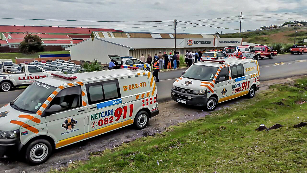 Izotcha Road taxi accident leaves two injured