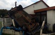 Boksburg vehicle rollover leaves 4 injured