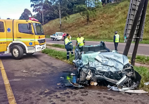 N3 key Ridge accident leaves three injured