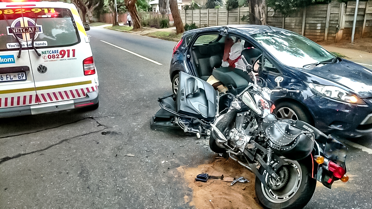 Villeria bike collision leaves two injured