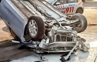 N3 Camperdown rollover crash leaves one seriously injured