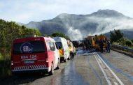 Man killed in truck fire, Mossel Bay