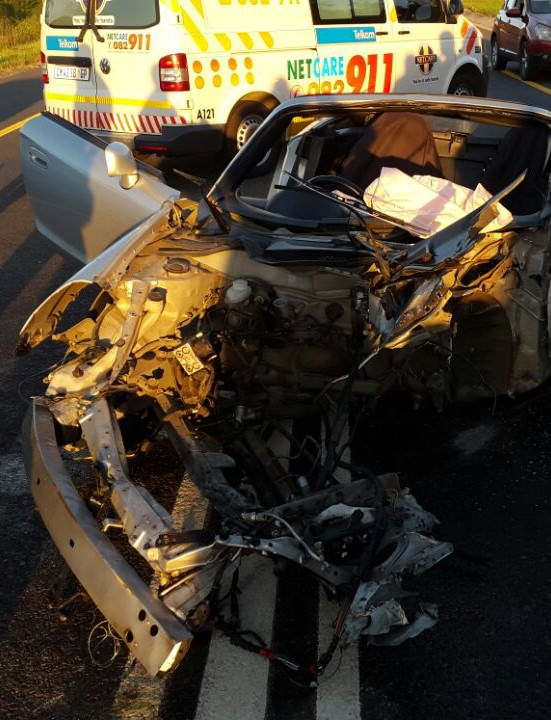 Nelspruit accident leaves man critical