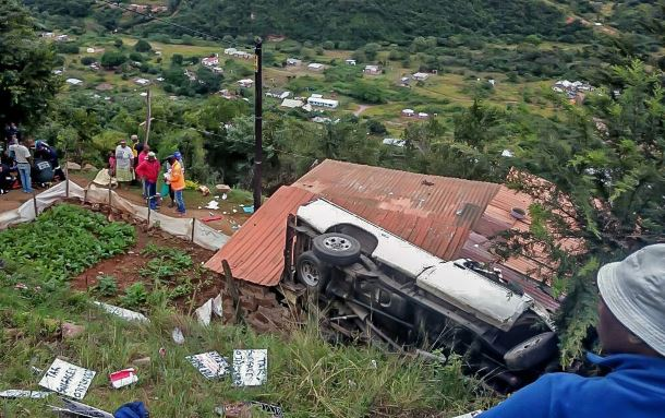 Pinetown Wyebank accident leaves 7 injured