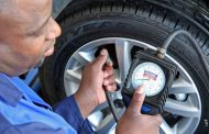 Why should I avoid driving with low tyre pressure?