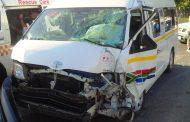 6 injured in taxi crash in Umbilo in Durban