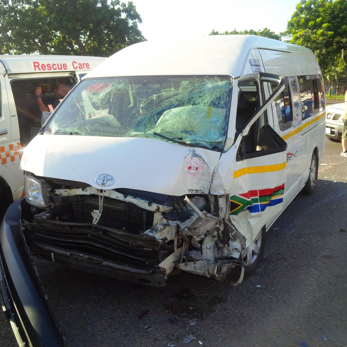 Six injured in road crash on the N12 Nelson Mandela Drive in Vyfhoek, Potchefstroom