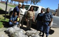 Vigilant Bityi members recovered abalone worth more than R100 000 and confiscate rental vehicle