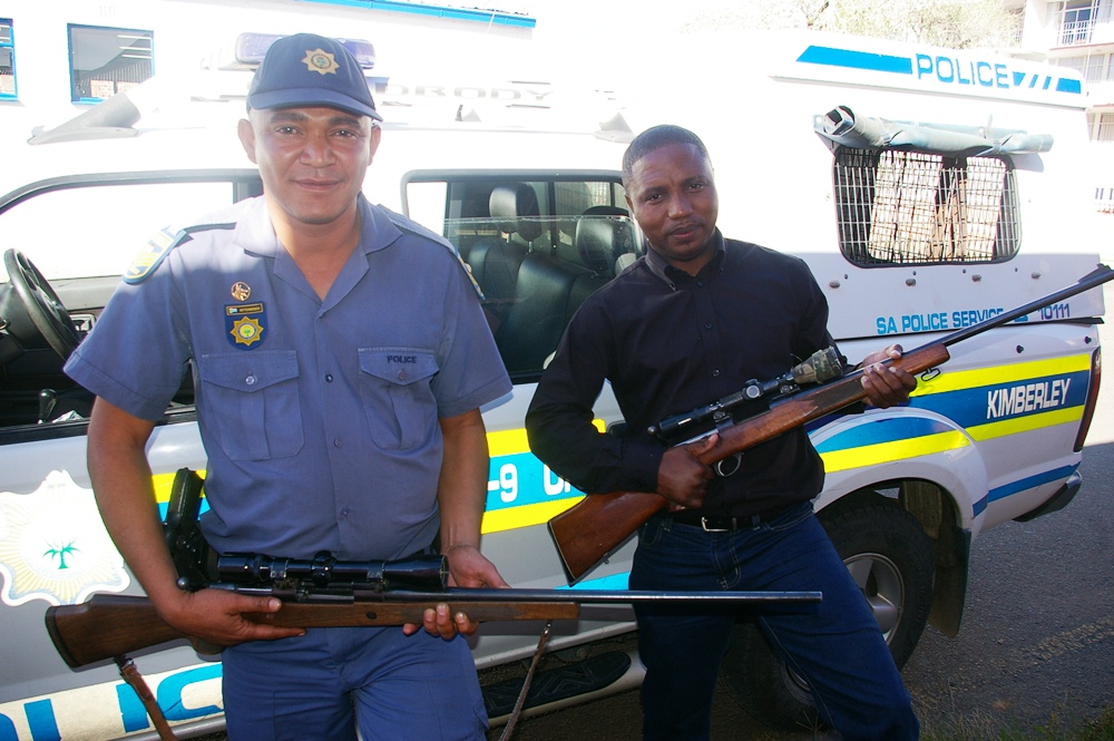 Accused found guilty of theft and illegal possession of firearms in Kimberley