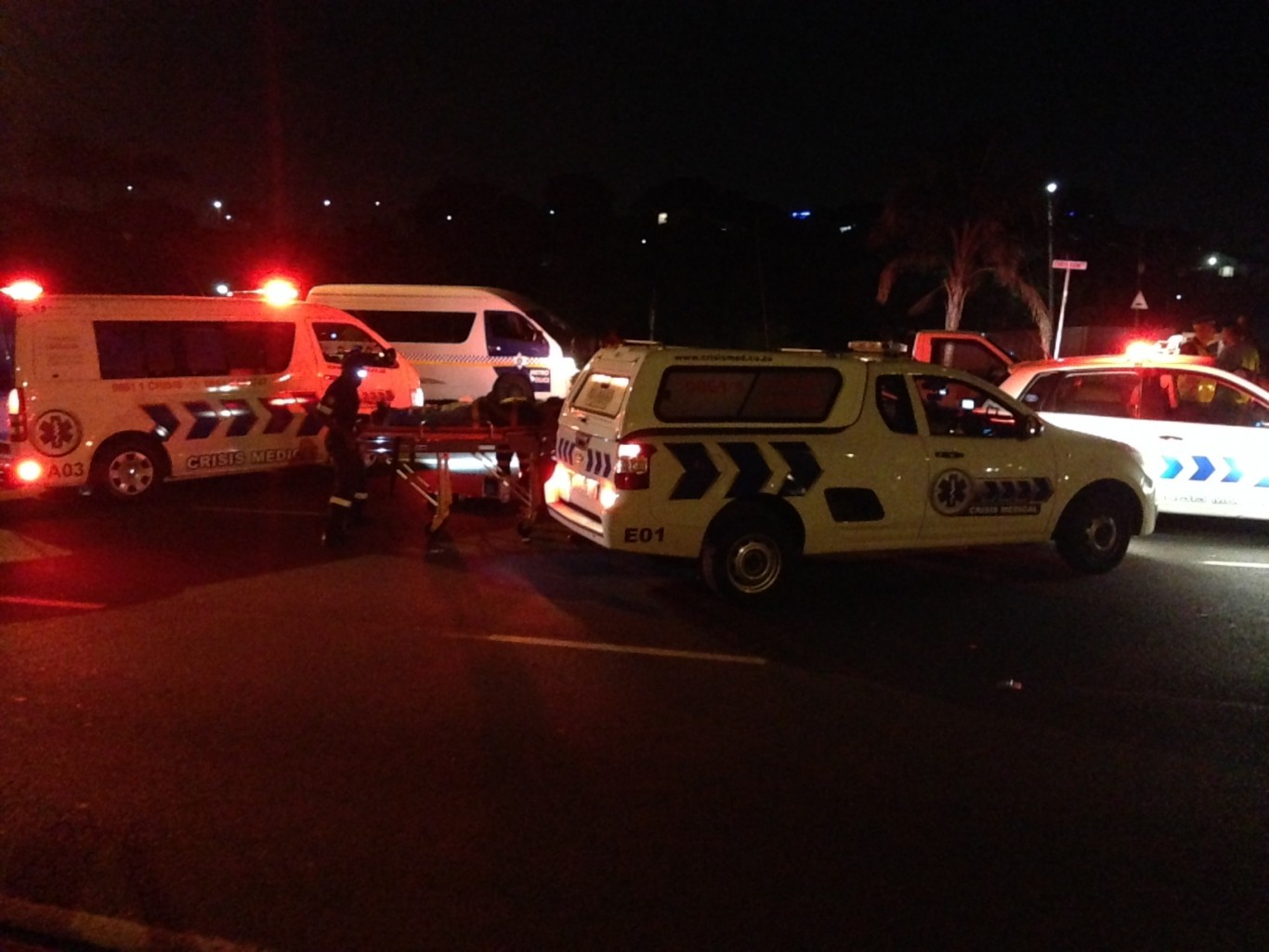 Margate R 61 vehicle rollover leaves two injured