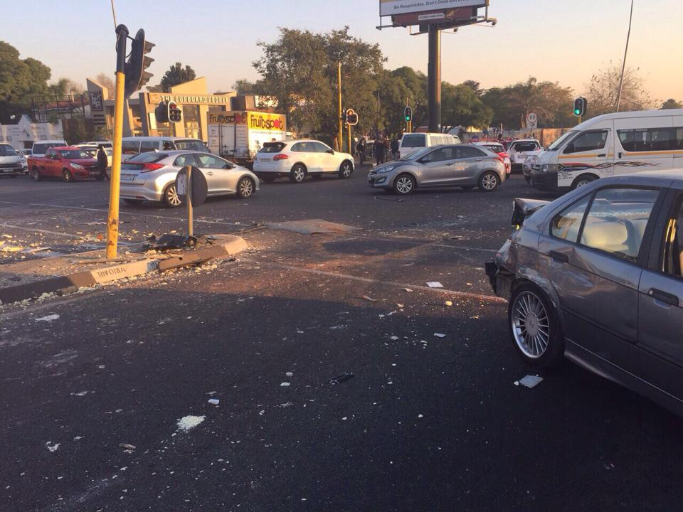 Passenger killed when ejected in R26 collision