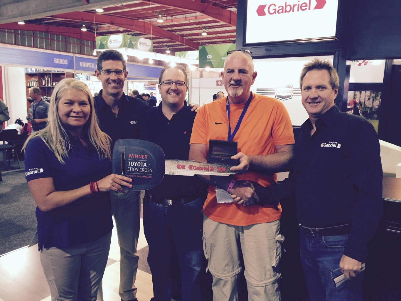 First Winners of Gabriel Competition announced at Automechanika