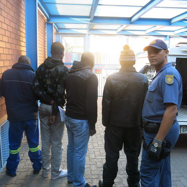 Kimberley police makes dagga arrests