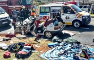Krugersdorp accident leaves two critical - one serious
