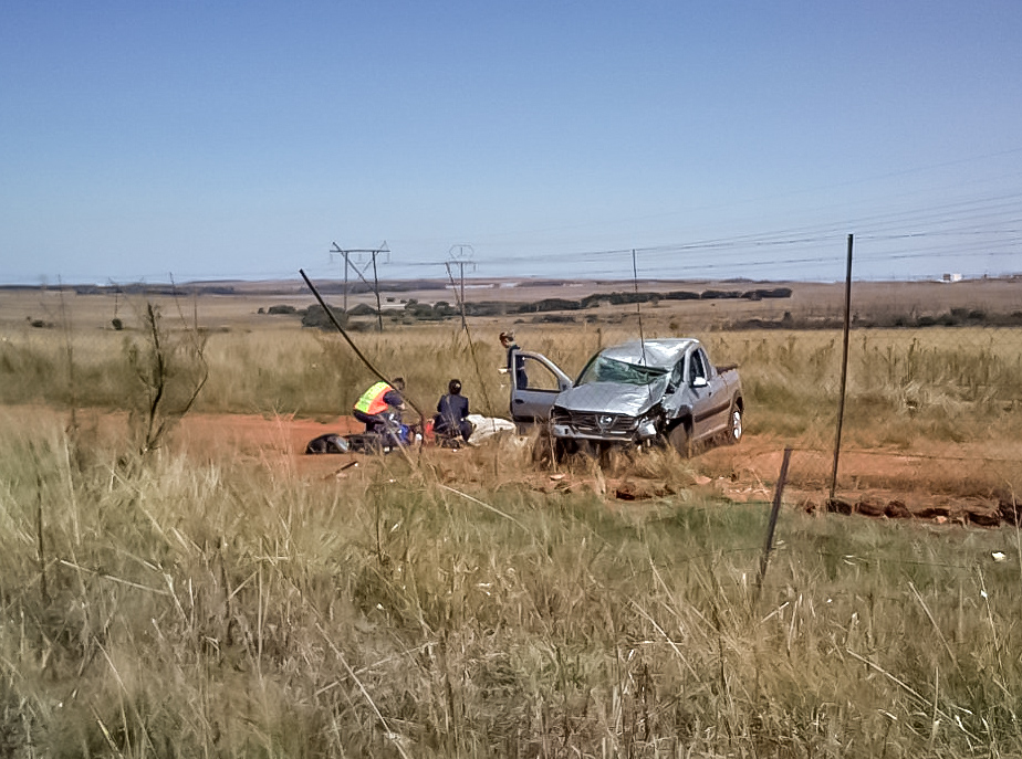 R50 Delmas Road crash leaves one critical
