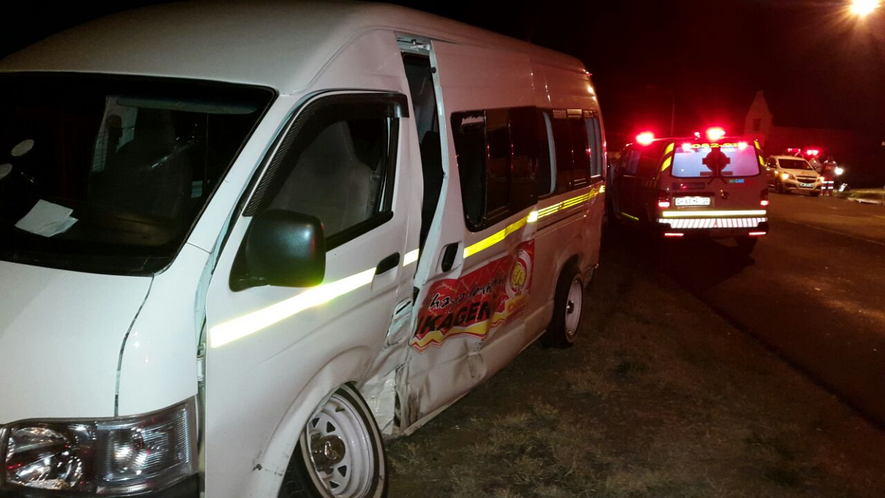 Three injured in collision in Potchefstroom