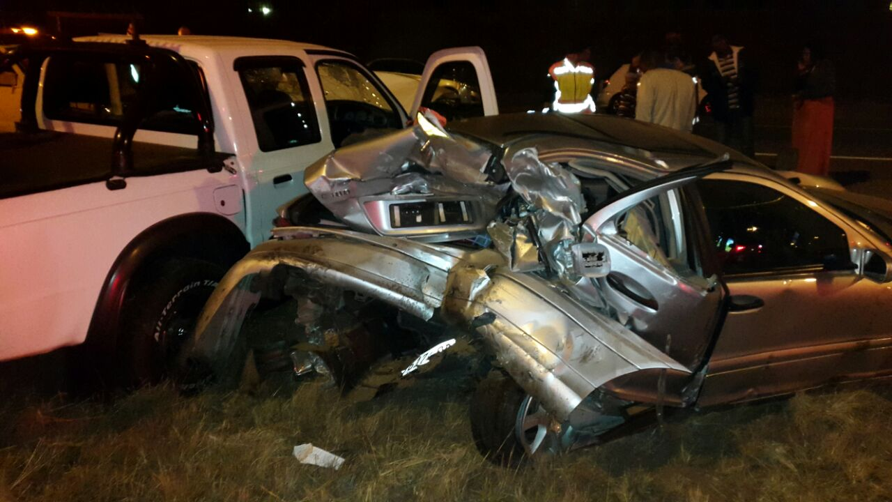 Rooihuiskraal collision leaves one dead and two injured