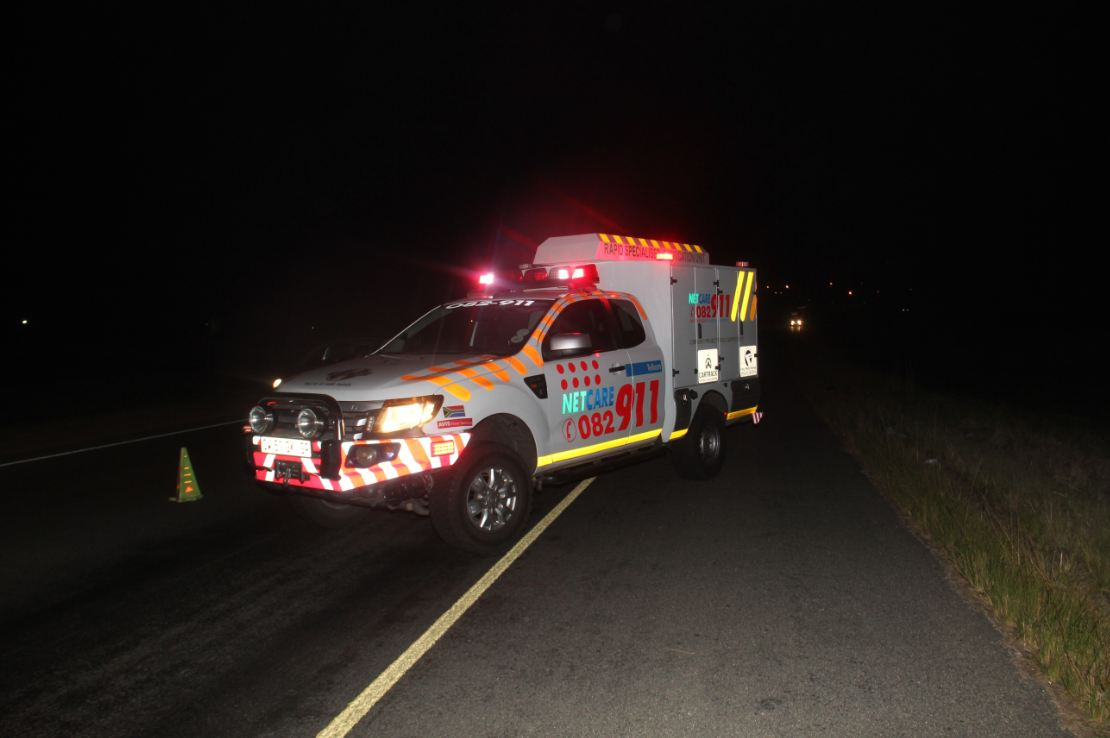 Nelspruit crash leaves man critical
