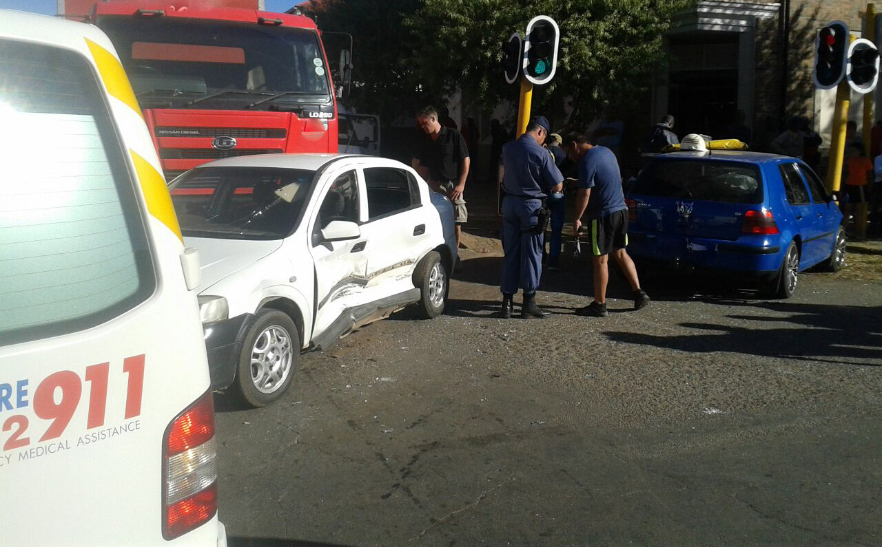 Collision in Krugersdorp leaves four children injured