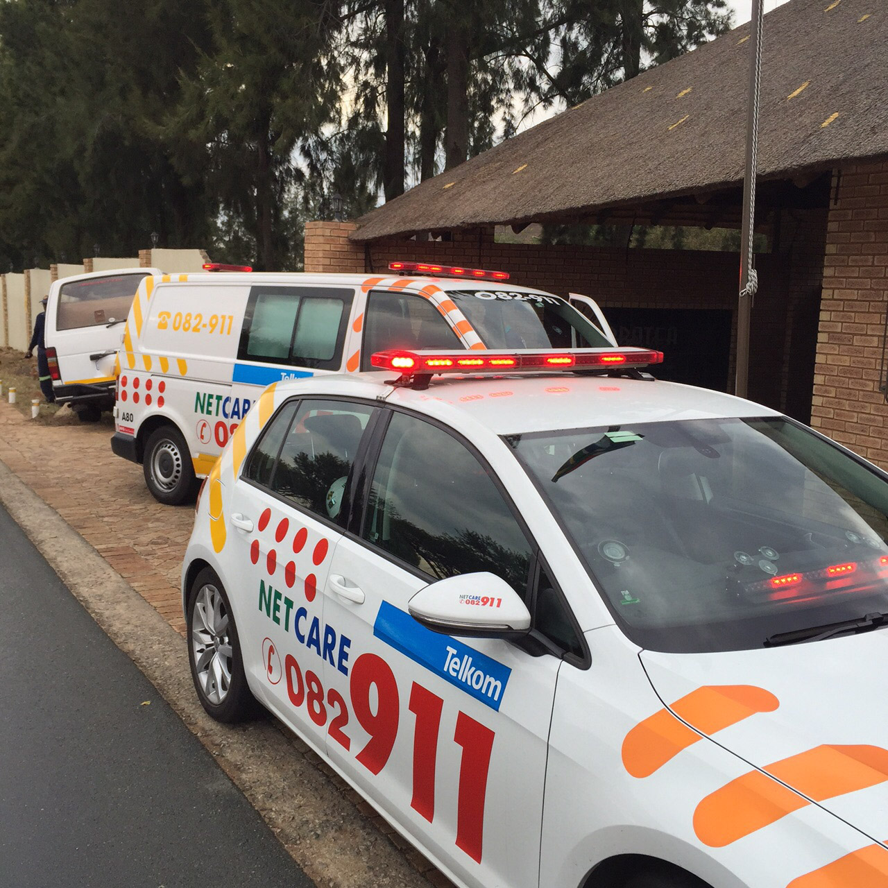 Two injured in head-on collision along the R102 in Shakaskraal