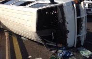 Minibus rollover in KZN at Stamfordhill leaves three injured