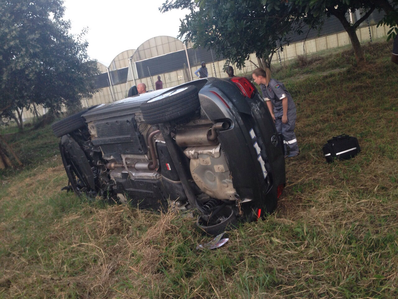 KZN Umhlali rear-end collision leaves woman injured
