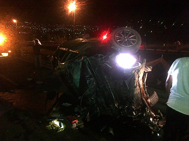 One killed, three injured in morning commute on the R82 near the Grasmere turn-off