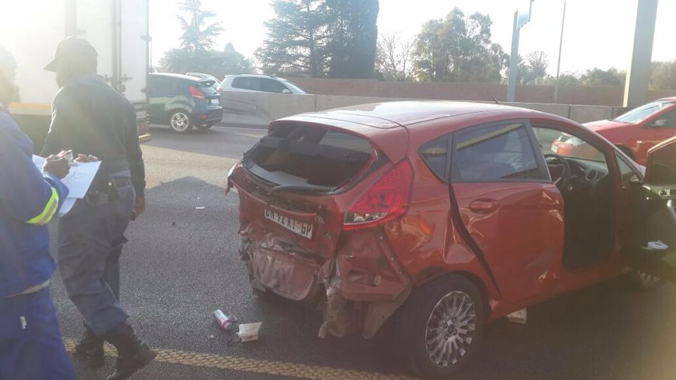 Two injured in collision on N1 near Atterbury