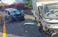 Marine Drive crash leaves three patients injured