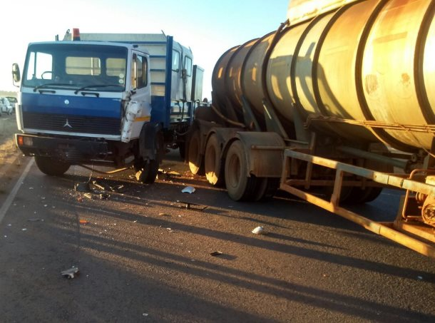Bapsfontein accident leaves three injured